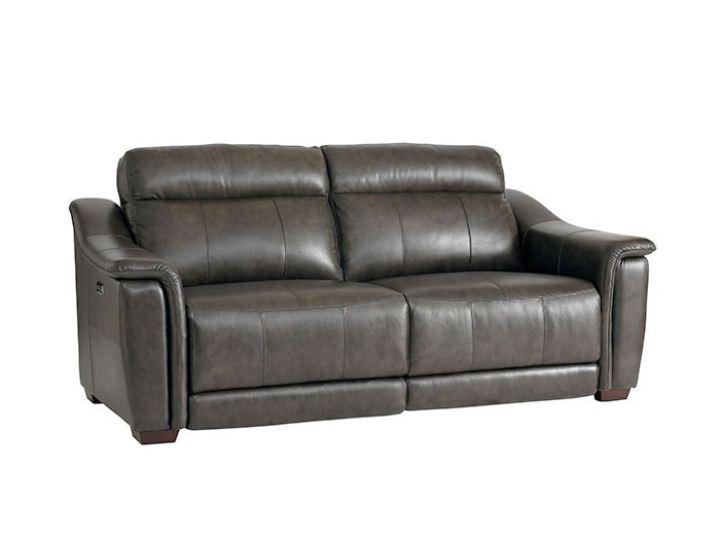 Bassett Club Level Sheffield Motion Sofa W Power In Truffle 3684 P62t