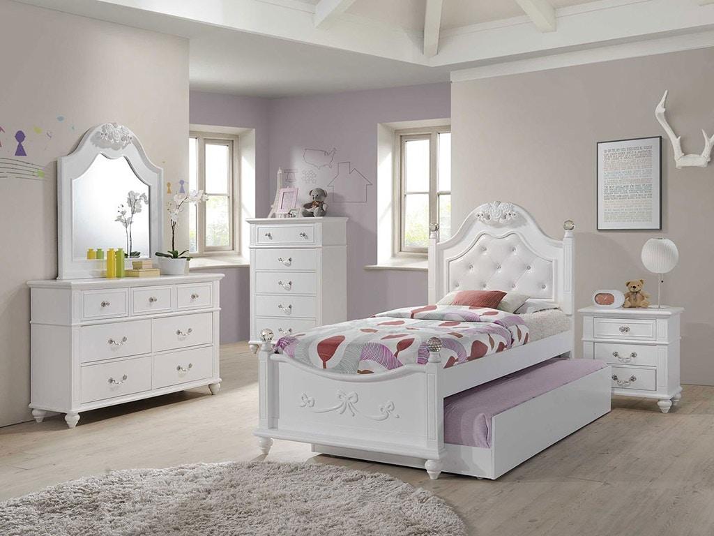 alana twin bedroom set mattress free