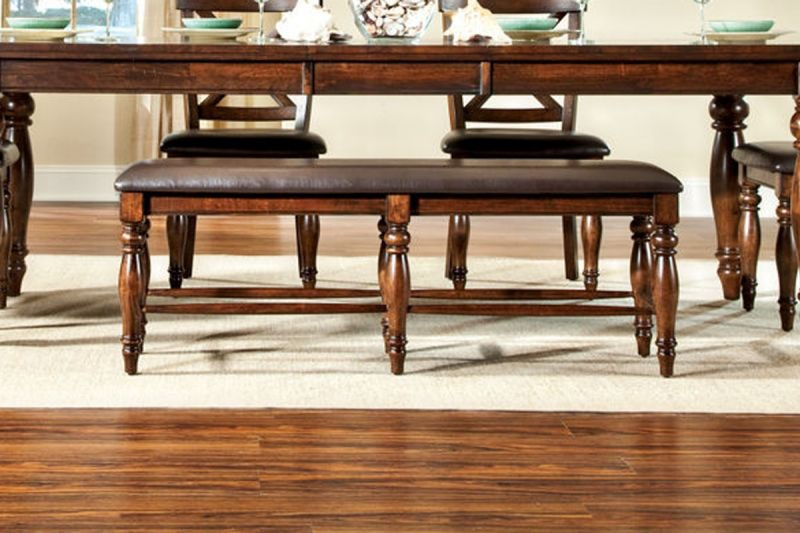 Craft Designs Dining Room Kingston Dining Table With 4 Chairs Bench FREE