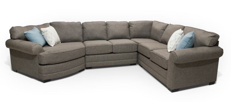 England Stella Sectional With Cuddler Wedge