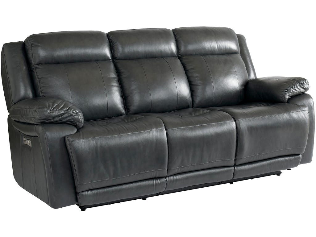 Bassett Evo Power Reclining Sofa 846151 Talsma Furniture Hudsonville Holland Byron Center