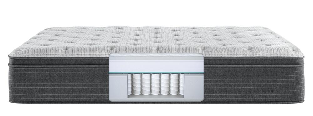 silver brs900 plush pillow top mattress