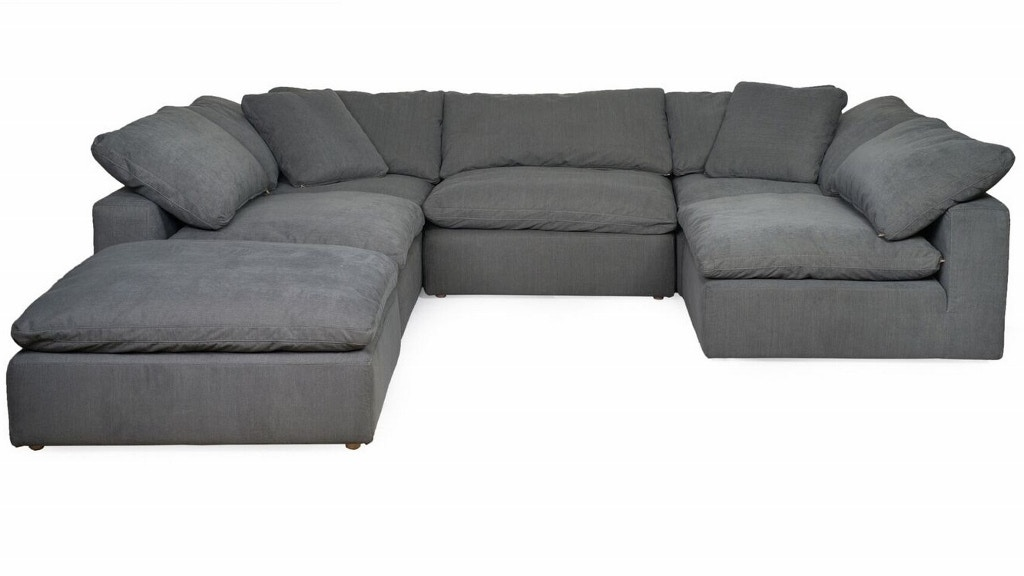 5 pc sectional ottoman sold separate