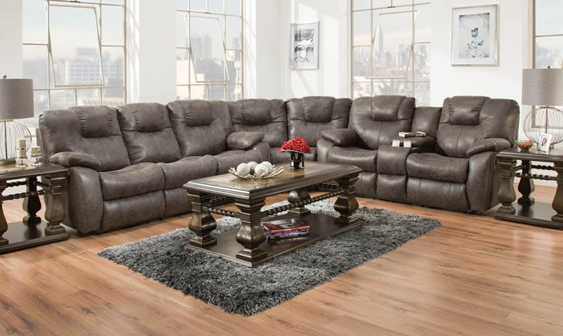 southern motion avalon reclining sectional 179001