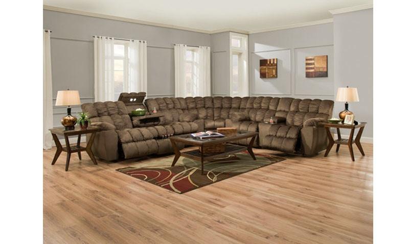 franklin corporation brayden reclining sectional 179070