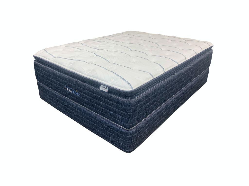 sleep international llc driskell pillow top plush king mattress 186022