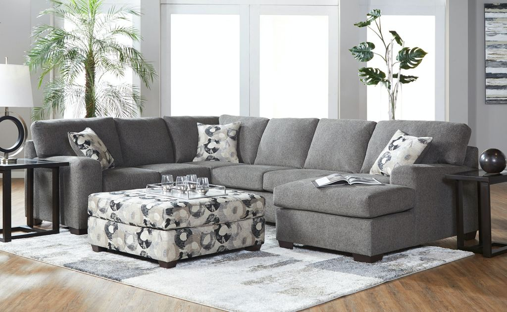 Make the living room the center of attention with these unique furniture and design ideas. Hughes Furniture Blackstone Sectional 18800 - Wenz Home ...