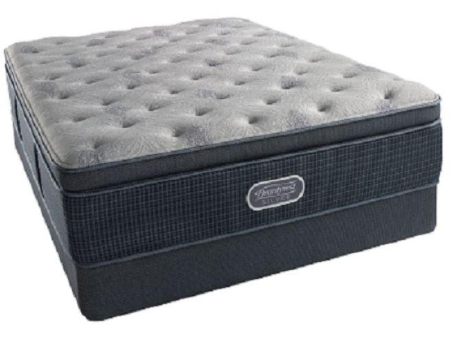 Simmons Beautyrest Silver St Thomas Plush Super Pillowtop King Mattress Set G70097