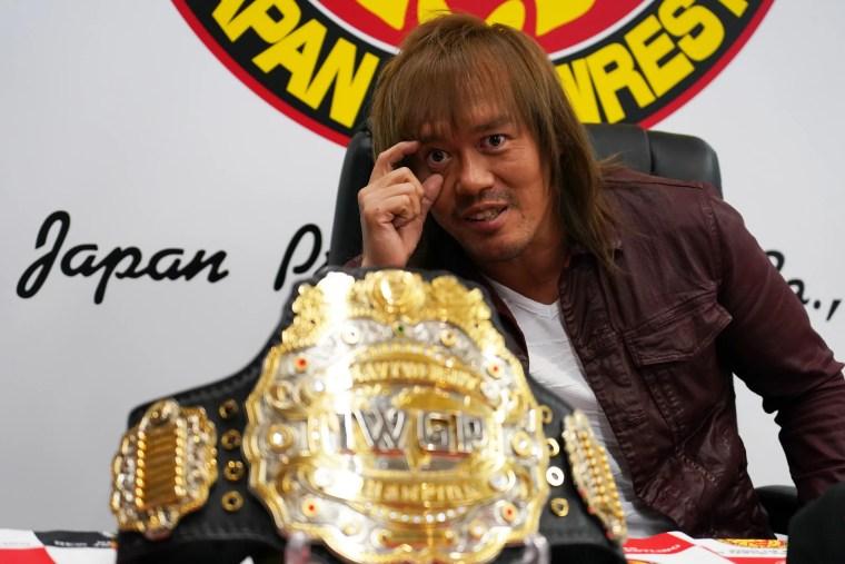NJPW, Tetsuya Naito