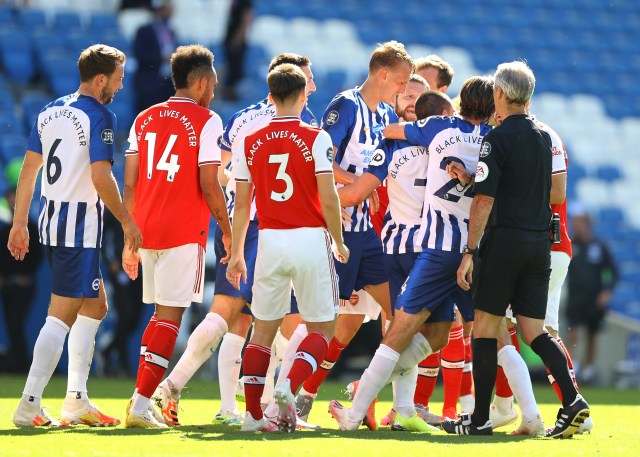 Arsenal vs Brighton player ratings: That's how you finish midtable