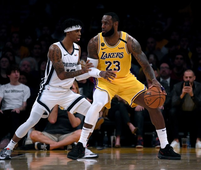 Los Angeles Lakers  Lessons From Victory Over Memphis Grizzlies