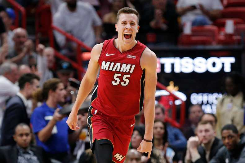 Miami Heat: Duncan Robinson should be least impacted by layoff