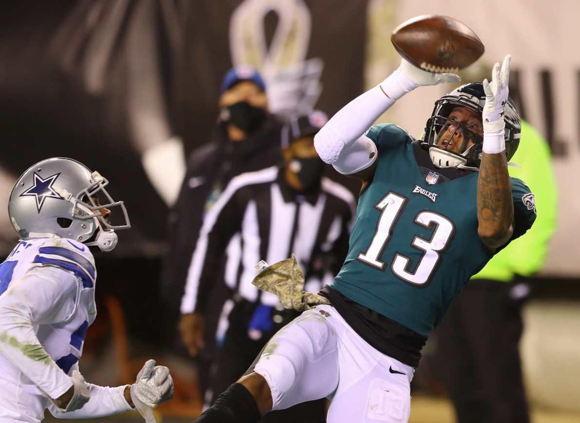 Philadelphia Eagles: Travis Fulgham (almost) saved the season... again