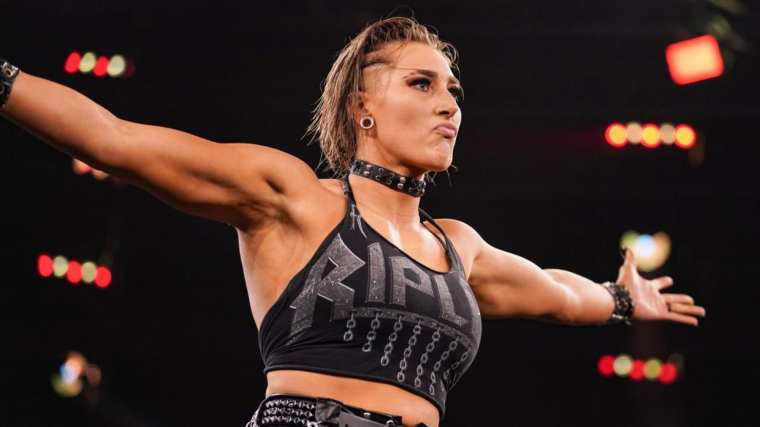 Monday Night Raw is the perfect spot for Rhea Ripley