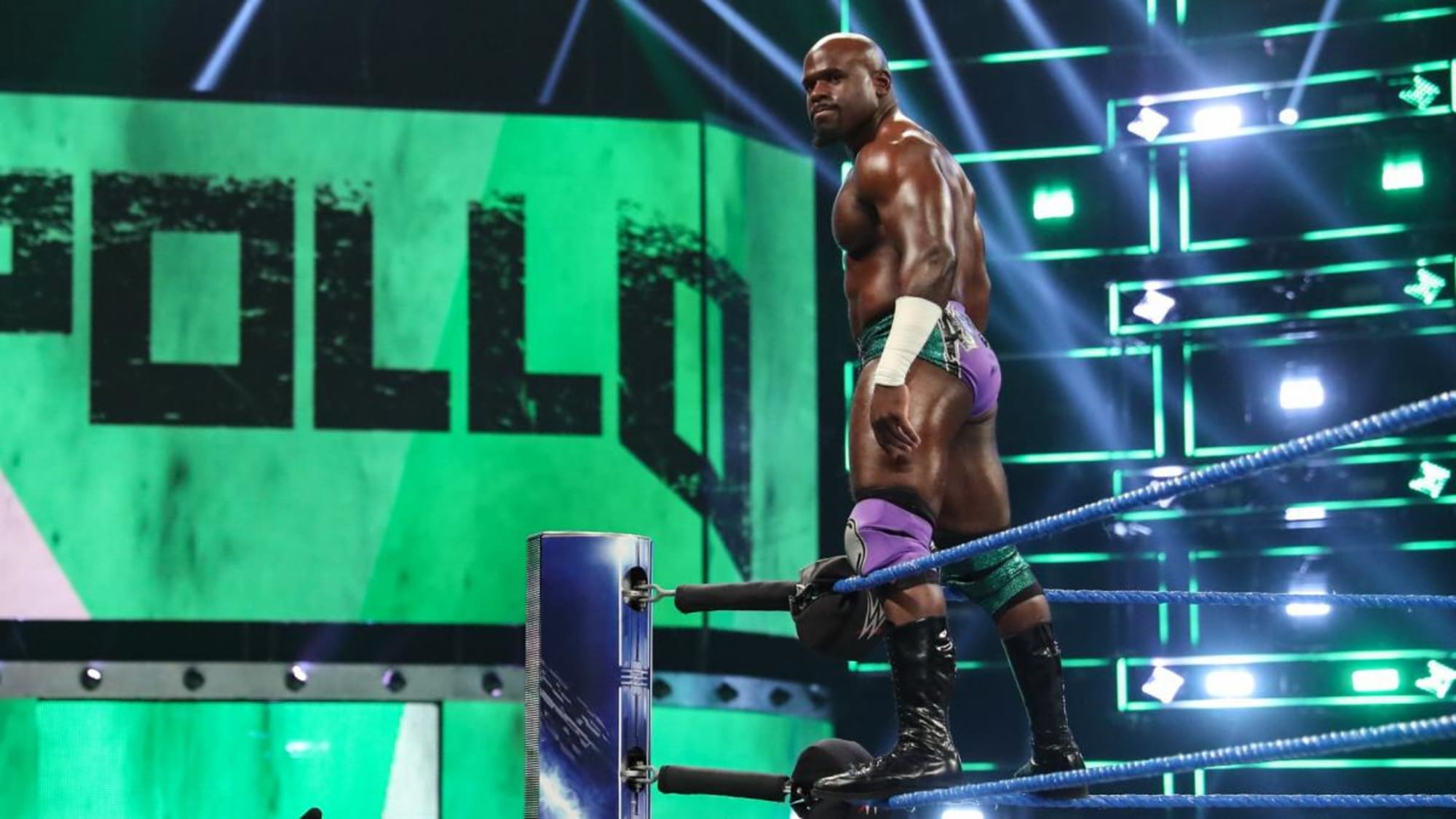 Apollo Crews on fighting frustration in WWE, capitalizing on opportunities