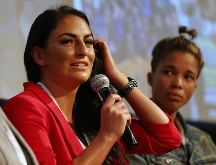 Fans welcome back Sonya Deville with open arms