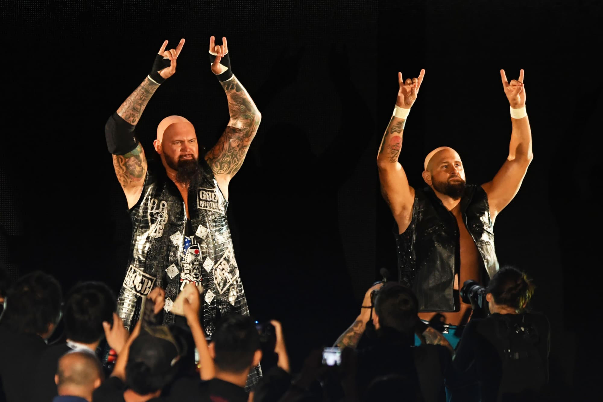Did we just see the reformation of The Bullet Club on AEW Television?