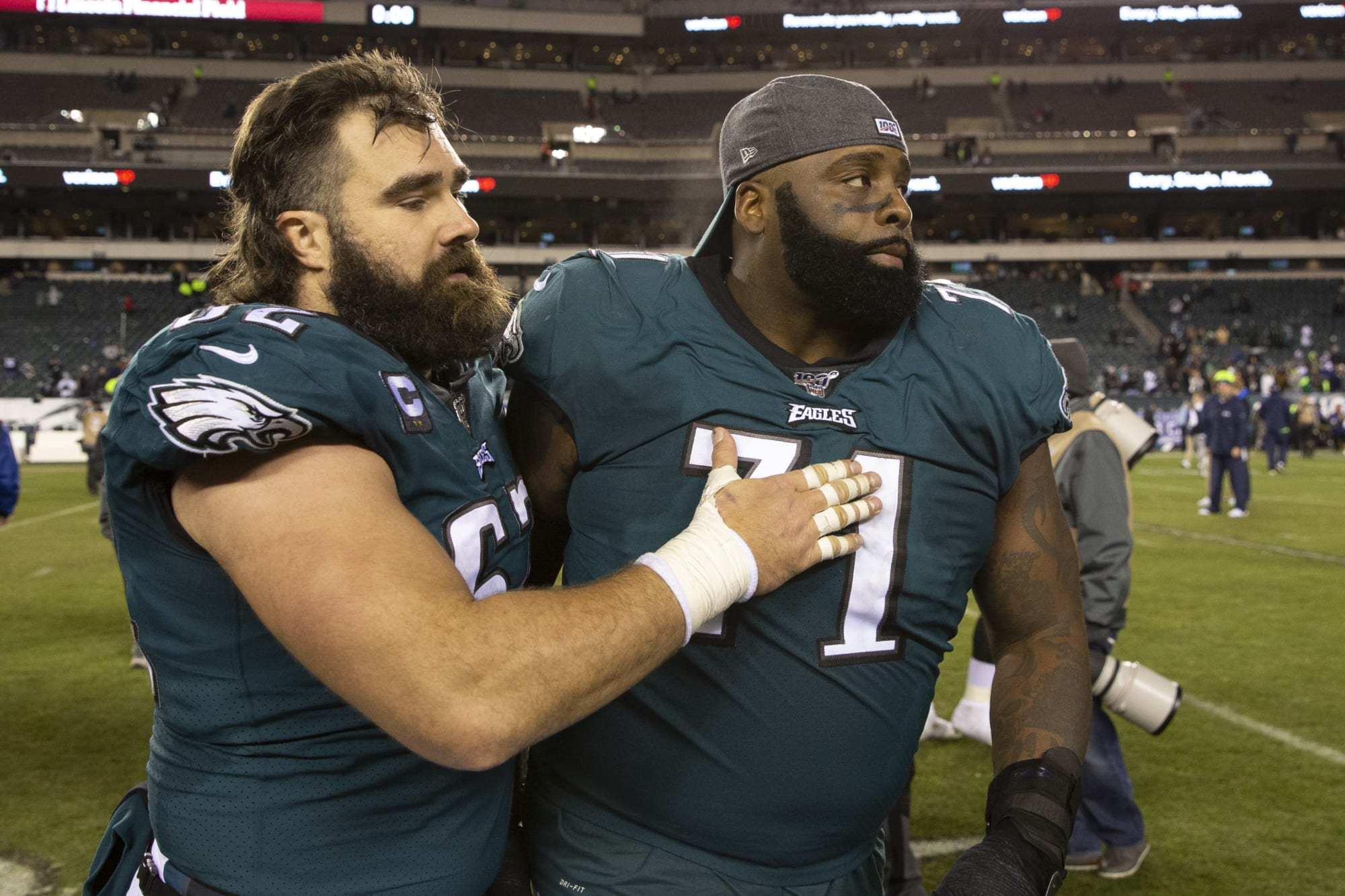 Photo of Jason Kelce reveals that DeSean Jackson inspired him to talk about the death of George Floyd