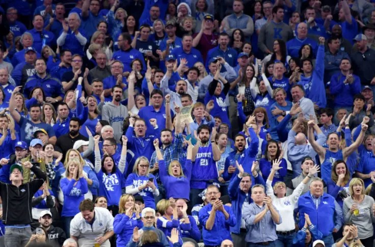 FanSided 250: Kentucky Wildcats far too low among SEC schools