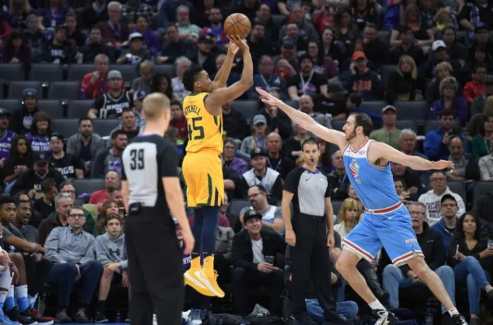 Utah Jazz: Donovan Mitchell on record pace from 3-point range