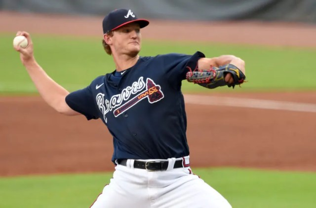 Mike Soroka, Atlanta Braves. (Mandatory Credit: John David Mercer-USA TODAY Sports)