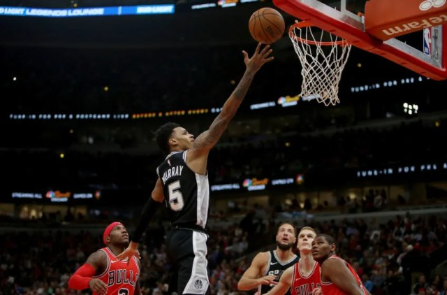 NBA San Antonio Spurs Dejounte Murray (Photo by Dylan Buell/Getty Images)