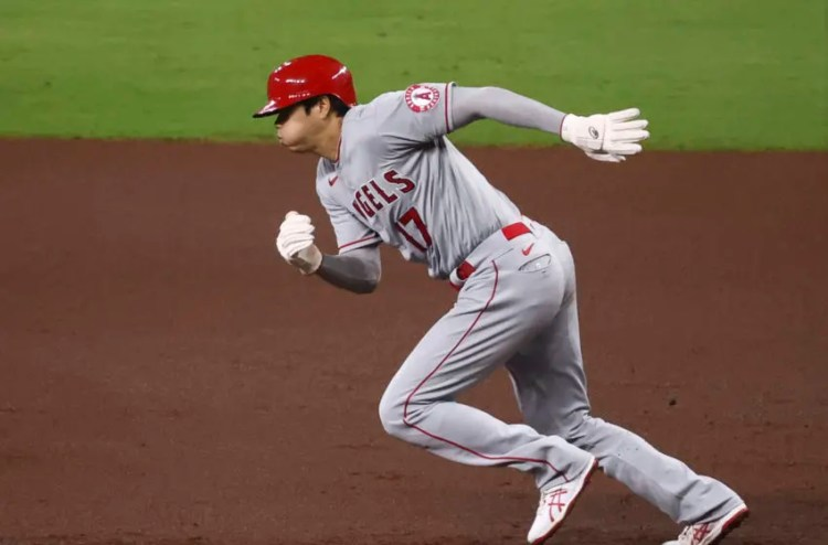 Shohei Ohtani sprinting around the bases is the new home ...