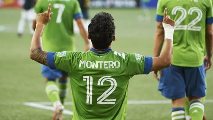 Montero has seven direct goal involvements against his former team, Vancouver Whitecaps.
