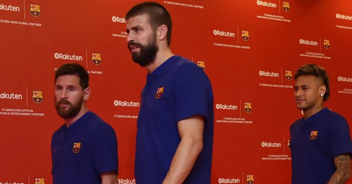 Gerard Pique Admits Barcelona Players Discussed About Neymar Joining Real Madrid 1