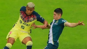 Colombian Roger Martínez was in charge of opening the way for America's victory over Puebla.