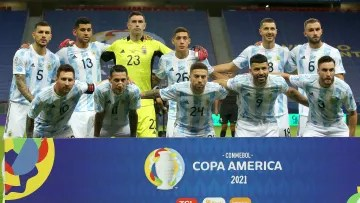 Argentina against Paraguay