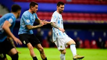 Argentina v Uruguay: Group A - Copa America Brazil 2021 - Messi was truly unstoppable.