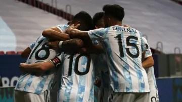 Argentinian celebration