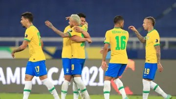 Brazil v Colombia: Group B - Copa America Brazil 2021 - Brazil, the best team in the group stage.