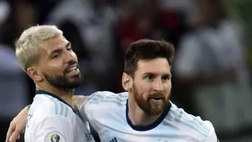 Messi and Agüero