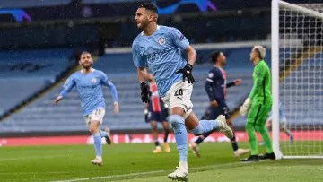 Riyad Mahrez has been a star in Manchester City's Champions League charge