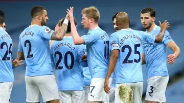 Man City are on course to seal the 2020/21 Premier League title