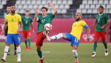 Mexico and Brazil met in the semifinals