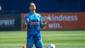 Javier Hernández will be part of the MLS team for the All Star Game