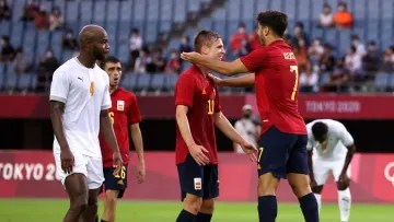 Spain v Cote dIvoire Mens Football Quarterfinal d796aac4fc3df5d2e1e1315c1811e834