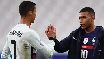 Mbappé and Cristiano Ronaldo