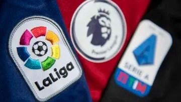LaLiga, Premier League and Serie A