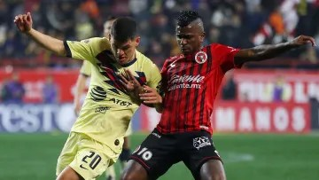 América receives Xolos this Sunday, August 22, on the Azteca Stadium field for Day 6 of the Grita Mexico 2021 Tournament.