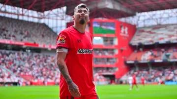 The footballer Rubens Sambueza.