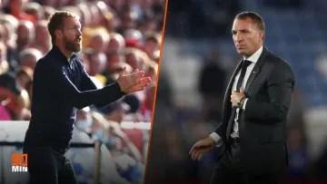 Graham Potter contra Brendan Rodgers