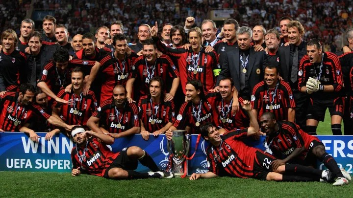 AC Milan v Sevilla - UEFA Super Cup