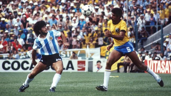 Diego Armando Maradona, Toninho Cerezo