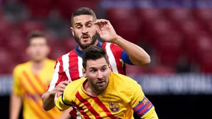 Lionel Messi, Koke