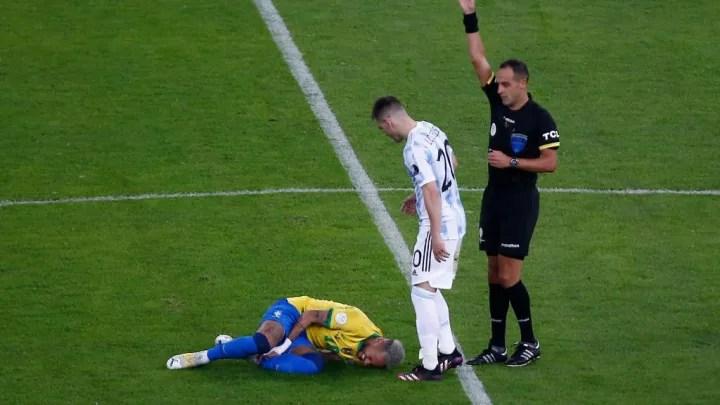 Esteban Ostojich, Giovani Lo Celso, Neymar Jr.