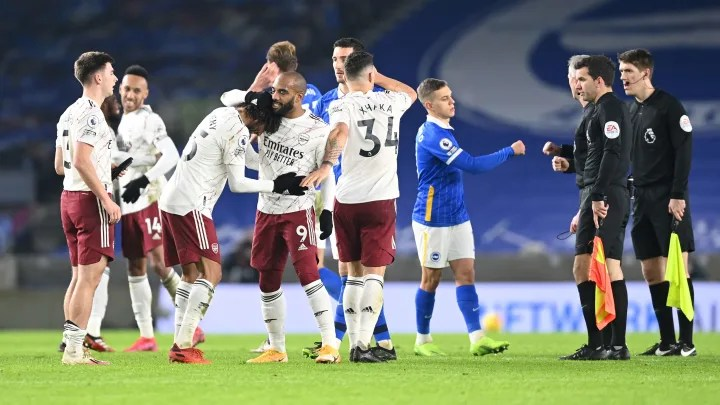 Arsenal score win in weird Brighton rivalry with hosts looking toothless